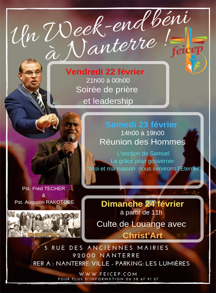 Weekend 23 Fev 2019 Nanterre